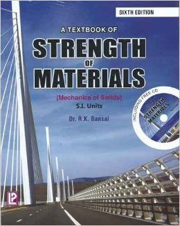 Strength of Materials Book by R K Bansal
