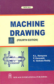 Engineering  Machine Drawing Book  by K L Narayana 1