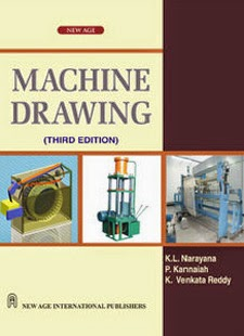 Engineering  Machine Drawing Book  by K L Narayana