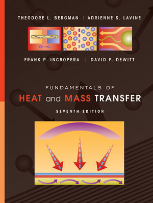 Frank P Incropera and Dewitt Fundamentals of Heat & Mass Transfer Book