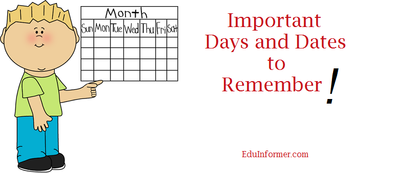 days and dates