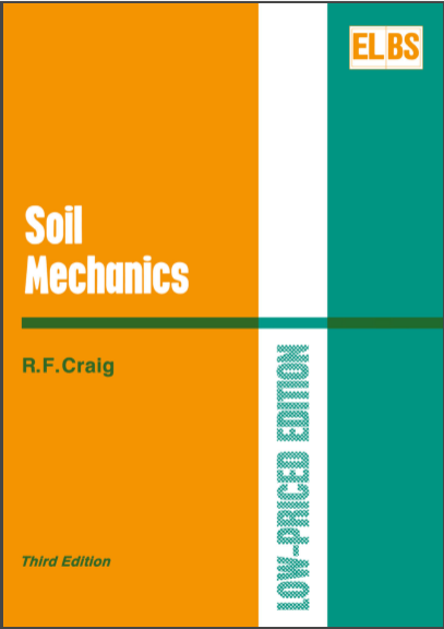 R F Craig's Soil Mechanics eBook