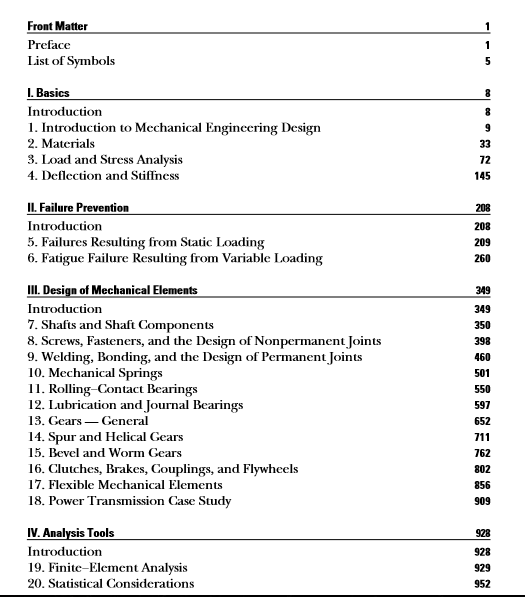 Shigley S Mechanical Engineering Design Pdf Eduinformer