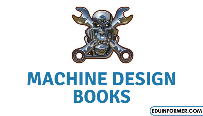 Machine Design Books for Mechanical Engineering