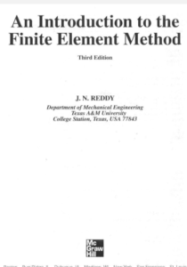 Best Books on Finite Element Analysis (PDF) 2