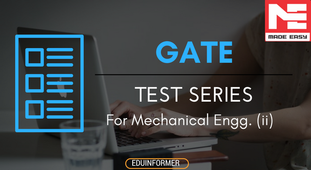 Made Easy Test Series (ii) For GATE Mechanical Engineering