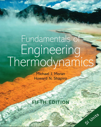 Fundamentals of Engineering Thermodynamics Moran And Shapiro