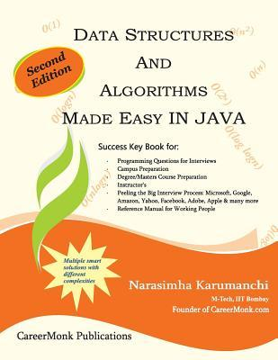 Data structures and Algorithms in Java by Narasimha Karumanchi