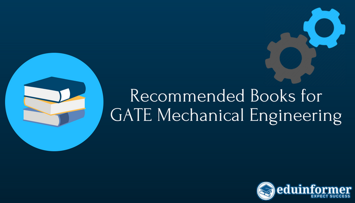 Best Reference Books for GATE Mechanical Engineering (2020)