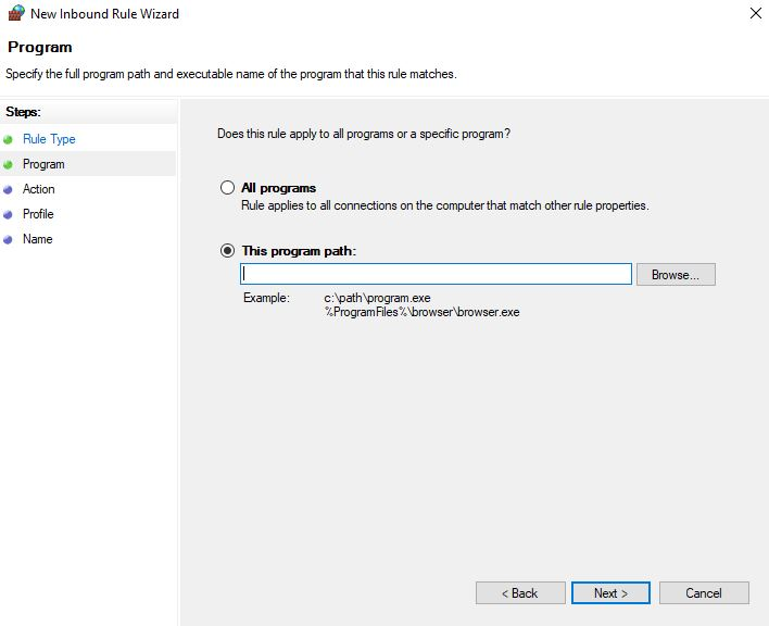 How to Block An Application from Accessing the Internet with Windows Firewall 4