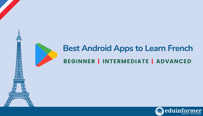 best android apps to learn french