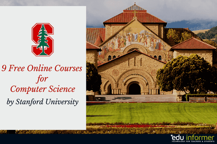 9 Free Online Courses from Stanford: For Computer Science in 2020