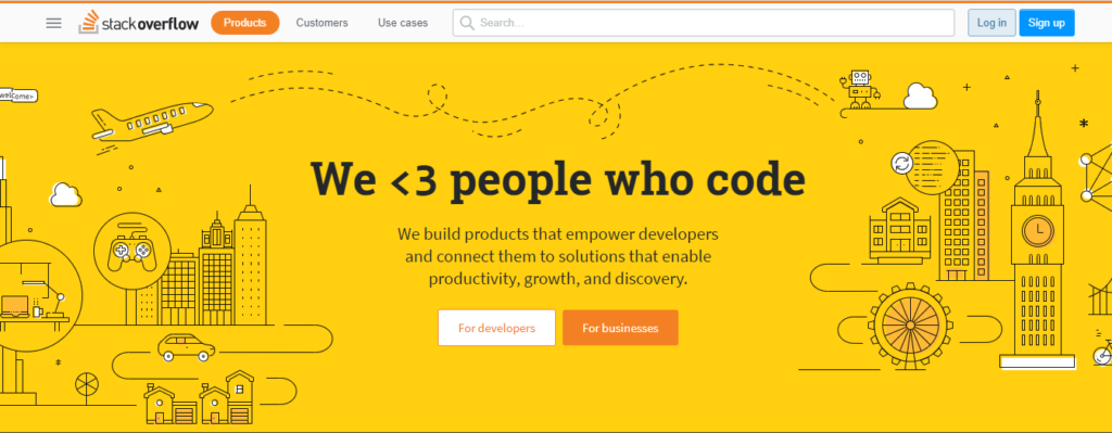 Stack Oveflow is best question Answer site where people answer questions of enthusiastic programmers