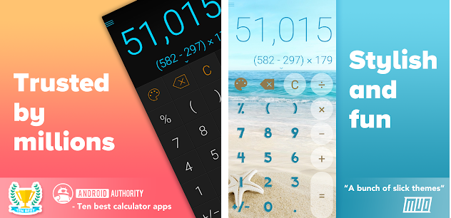 Calcu app can replace the calculator in your device and offer you more effective functions than your regular one