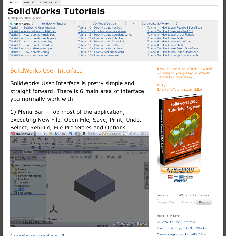 5 Best SolidWorks Online Tutorials Websites and YouTube Channels 5