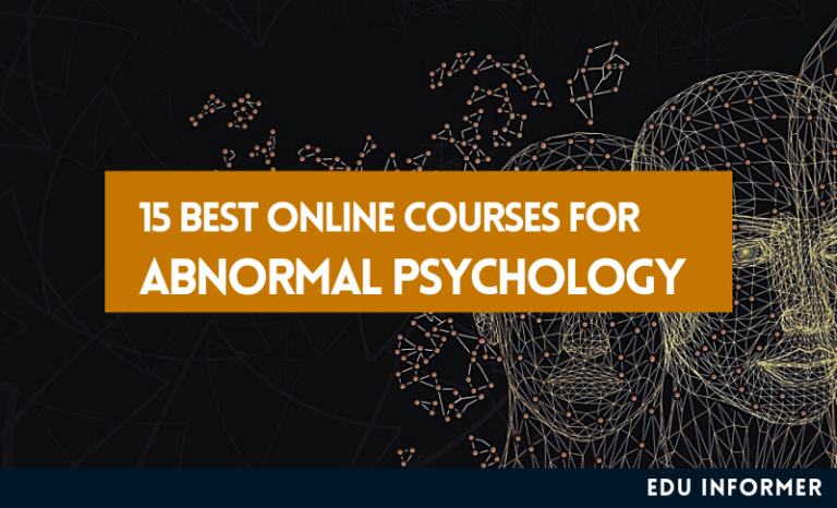 15 Best Abnormal Psychology Online Courses