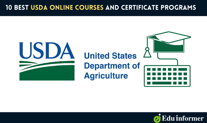 10 Best USDA Online Courses and Certificate Programs in 2021