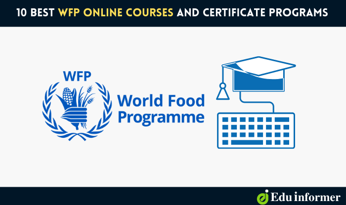 10 Best WFP Online Courses and Certificate Programs in 2021