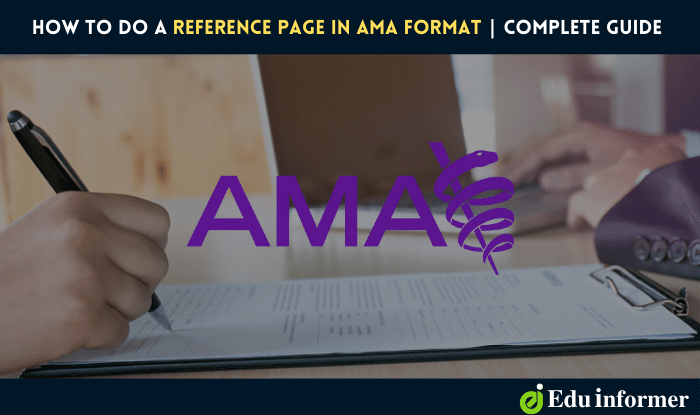 How to Do a Reference Page in AMA Format: Step by Step Guide