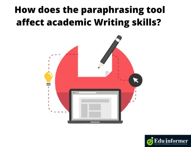 How Does the Paraphrasing Tool Affect Academic Writing Skills
