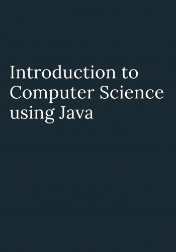 Introduction to Computer Science using Java